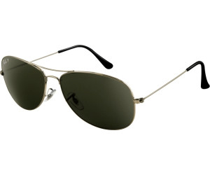 1675b2abbe Buy Ray-Ban Cockpit RB3362 004 58 Polarized (gunmetal green) from ...
