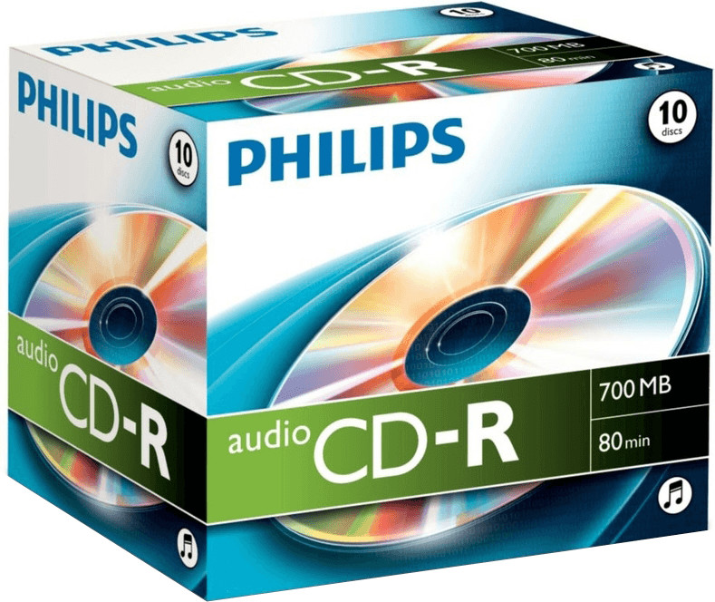 Philips CD-R Audio 700MB 80min 10er Jewelcase