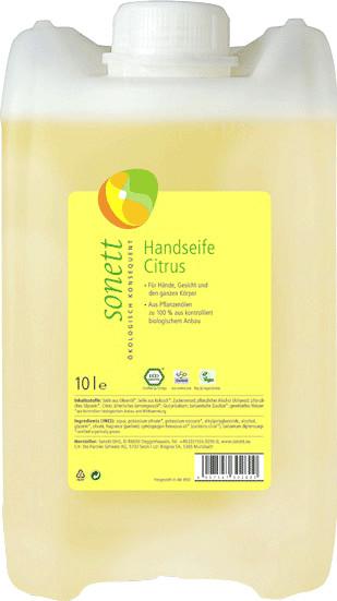 Sonett Handseife Citrus Nachfüllkanister 10 L