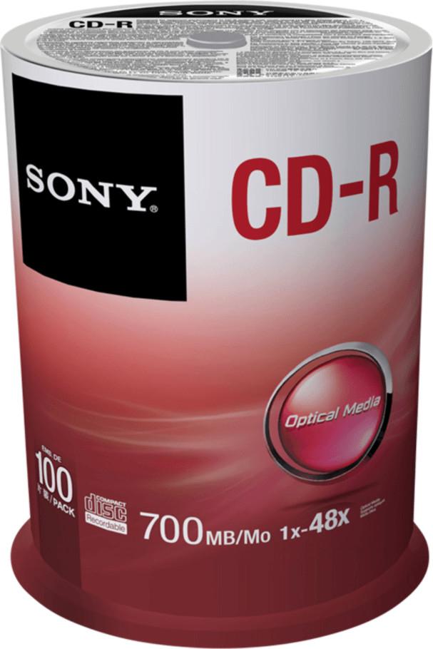 Sony CD-R 700MB 80min 48x 100er Spindel