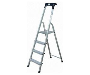 krause safety stufen stehleiter 4 stufen ab 45 50 preisvergleich bei. Black Bedroom Furniture Sets. Home Design Ideas