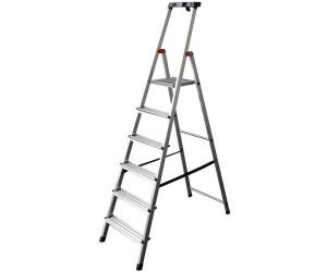 krause safety stufen stehleiter 8 stufen ab 89 21 preisvergleich bei. Black Bedroom Furniture Sets. Home Design Ideas