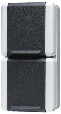 Jung Schuko-Zweifach-Steckdose 16 A 250 V (822 W)