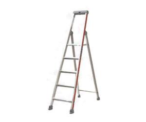 Plattform Hymer Stufenstehleiter  einseitig begehbar  4 bis 14 Stufen einschl