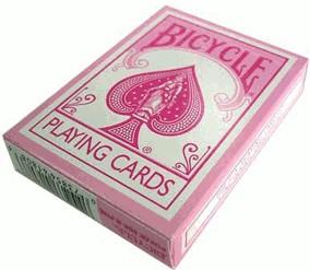 US Playing Card Bicycle Fashion Pink