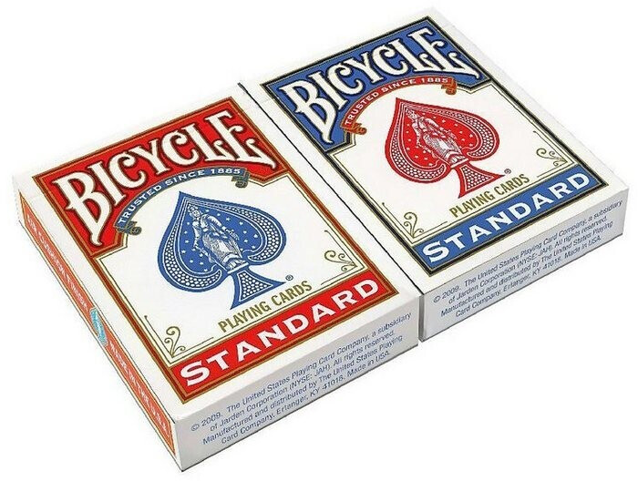 US Playing Card Bicycle Rider Back Spielkarten
