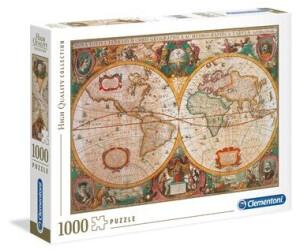 Cartina Geografica Antica.Clementoni Mappa Antica 1000 Pezzi A 10 11 Oggi Migliori Prezzi E Offerte Su Idealo