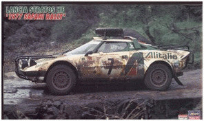 Hasegawa Lancia Stratos HF Safari Rallye 1977 (...