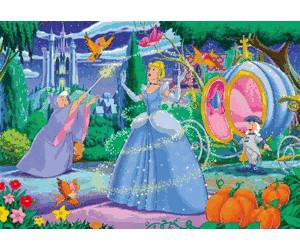 Clementoni Cinderella - Enchantment (40 pieces)