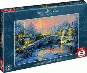Schmidt-Spiele Thomas Kinkade - Spirit of Christmas