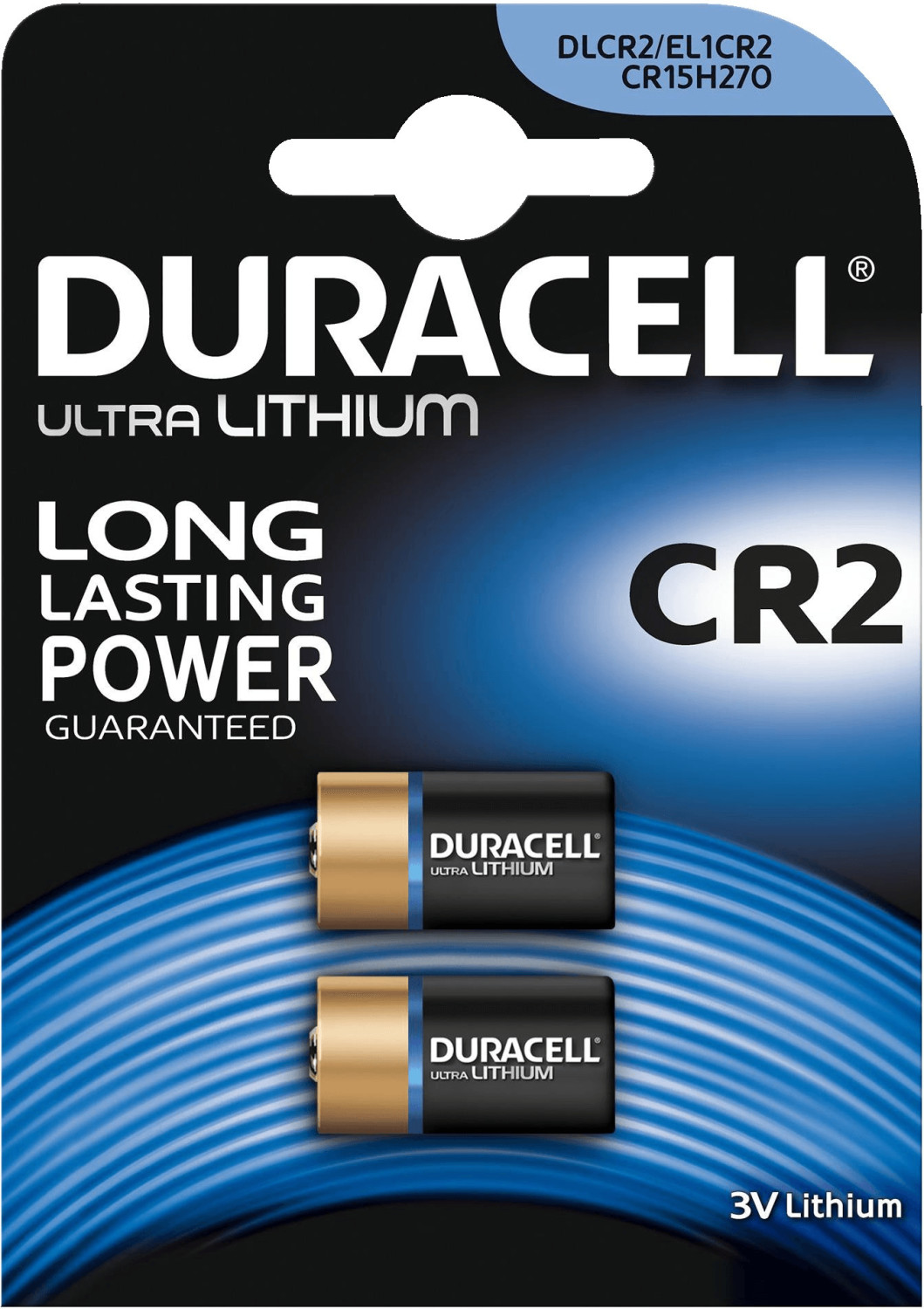 Image of Duracell 2x CR2 Ultra M3 Photo