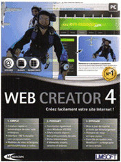 Mindscape Web Creator 4 Standard (FR) (Win)