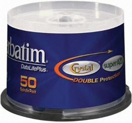 Verbatim CD-R 700MB 80min 52x AZO Crystal 50er ...