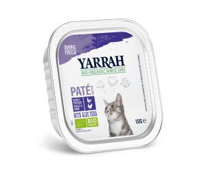 Yarrah Bio-Katzenfutter Pastete mit Huhn und Truthahn 100g