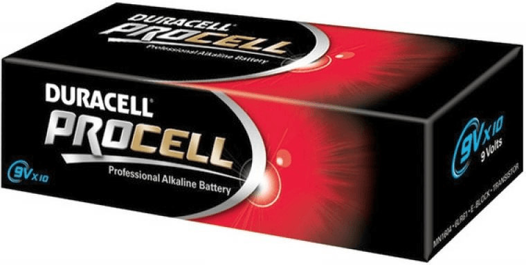 Image of Duracell 10x E PP3 Procell MN1604