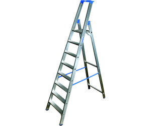 krause stabilo stufen stehleiter 8 stufen ab 189 71 preisvergleich bei. Black Bedroom Furniture Sets. Home Design Ideas