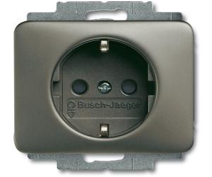 busch jaeger schuko steckdosen einsatz platin 20 eucks 20 ab 7 81 preisvergleich bei. Black Bedroom Furniture Sets. Home Design Ideas