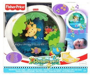 Image of Fisher-Price Rainforest Peek N Play Waterfall Soother