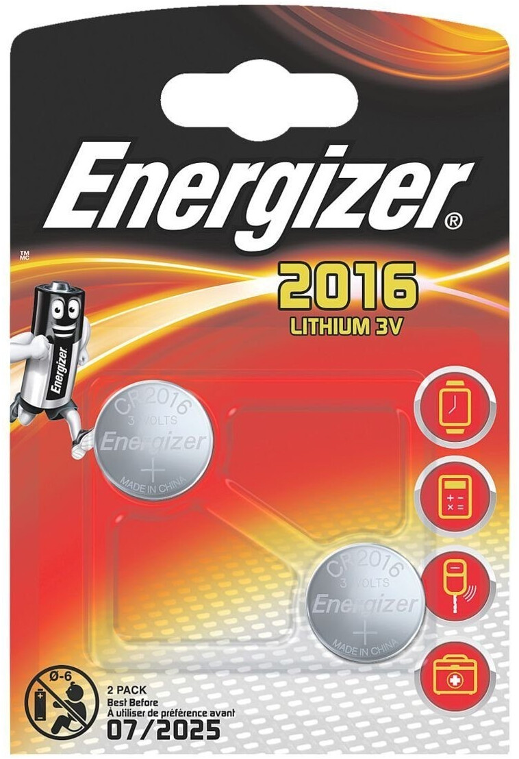 Image of Energizer 2x CR2016