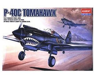 Image of Academy P-40C Tomahawk (2182)
