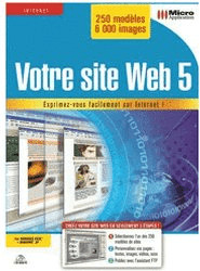 Micro Application Votre site Web 5 (FR) (Win)