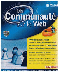 Micro Application Ma Communauté sur le Web (FR)...