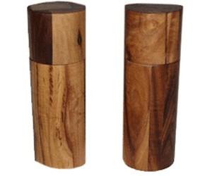 adhoc acacia pfeffer und salzm hle set 17 cm ab 49 80 preisvergleich bei. Black Bedroom Furniture Sets. Home Design Ideas