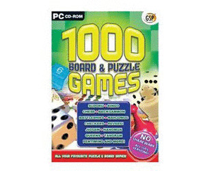 1000 Board and Puzzle Games (PC)