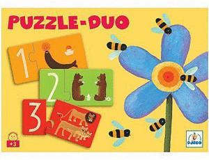 Djeco Puzzle Duo - Zahlen (08151)