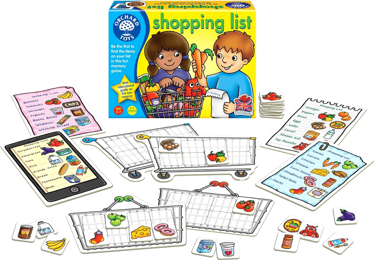 Orchard Toys Shopping List (englisch)