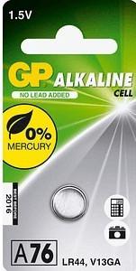GP A76 / LR44 Batterie 1,55V 110 mAh