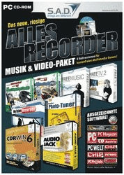 S.A.D. Allesrecorder Musik & Video Paket (Win) ...