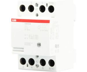 Installationsschütz ABB ESB 40-40 Schütz Installation Contactor 40A 4S 24V AC//DC