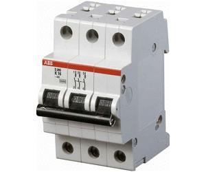 3-polig 50A Sicherungsautomat Leitungsschutzschalter ABB S203-B50