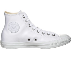 Converse Chuck Taylor All Star Leather Hi White Monochrome