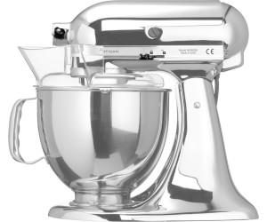 KitchenAid Robot da cucina Artisan cromato (5KSM150PSECR) a € 449 ...