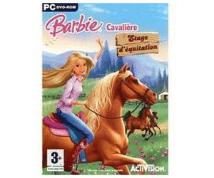 barbie cavalière stage dequitation pc