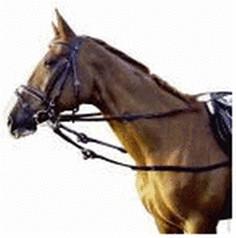 Pfiff Pony-Ausbindezügel Leder 4605