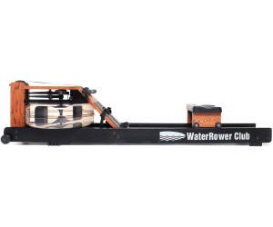 WaterRower Rudergerät Club-Sport S4 Monitor Empfänger Brustgurt Bodenschutzmatte