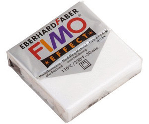 Effekt translucent weiß Fimo Modelliermasse FIMO® soft