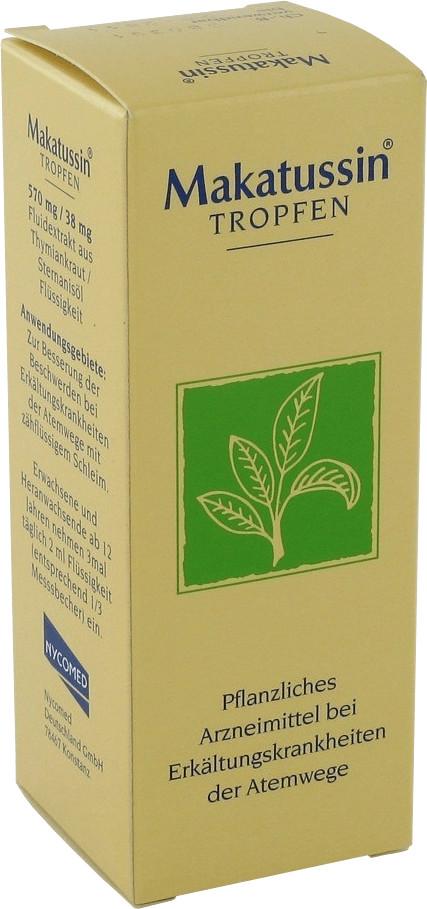 Makatussin Tropfen (50 ml) ab 5,92 € | Preisvergleich bei