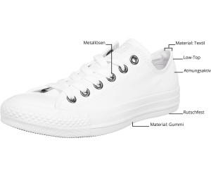 Converse Chuck Taylor All Star Ox white monochrome (1U647