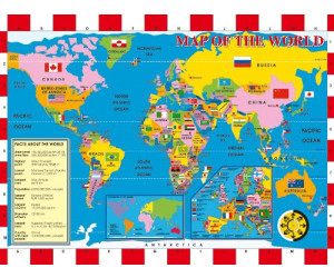 Ravensburger Discover & Learn - World Map (XXL, 200 Teile ...