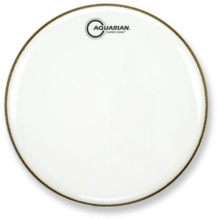Image of Aquarian Classic Clear Gloss White 24""