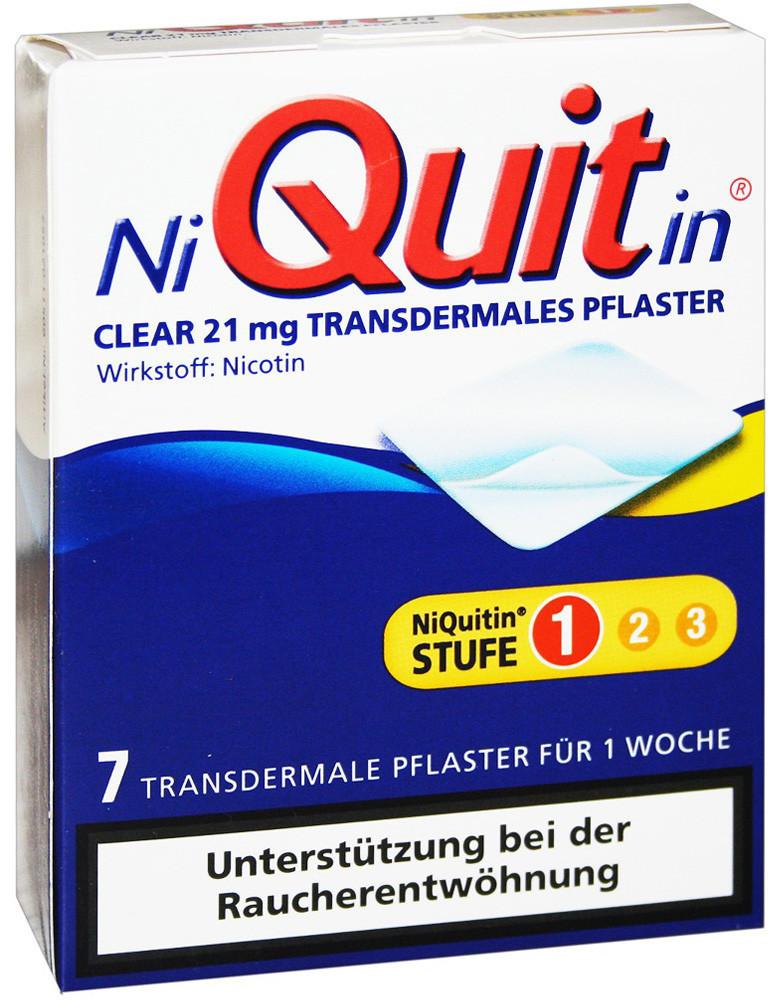 Niquitin Clear 21 mg Pflaster (7 Stk.)