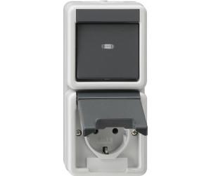 Gut bekannt Gira Kombination Wippschalter / SCHUKO-Steckdose (017630) ab 14,15 QX48