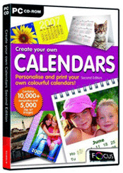 Image of Focus Multimedia Create your own Calendars Second Edition (Win) (EN)