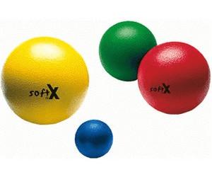 softX Schaumstoff-Ball 8 cm mit Haut