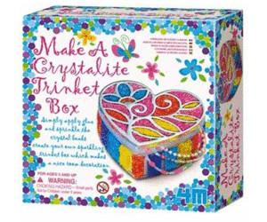 4M Make A Crystalite Trinket Box (00-02712 )