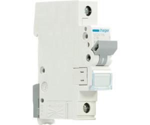 Hager MCN116 Leitungsschutzschalter 1-polig 6kA C-Charakteristik 16A 1 Modul